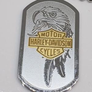 Other - Titanium Harley Eagle w/Bikers Prayer Pendant